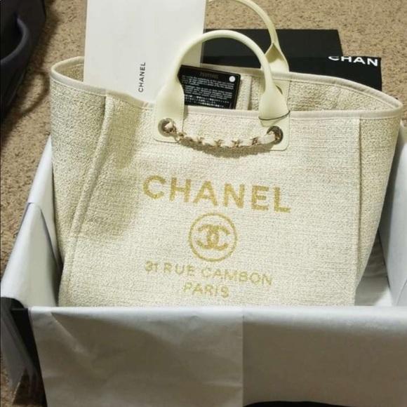 849c9efc7a04 Chanel Large Shopping Bag